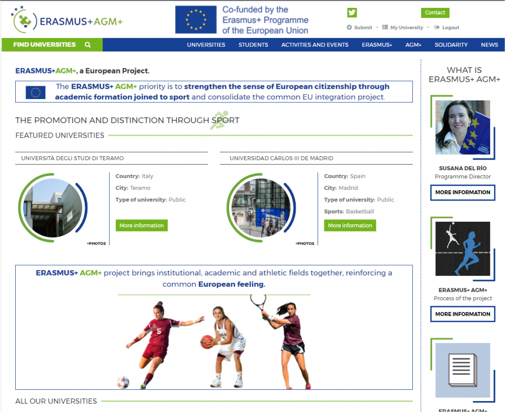 Erasmus+ AGM+ - Education and sport in European Union - Google Chrome